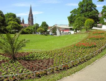 Stadtgarten for Designhotel stadtgarten freiburg