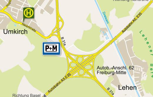 Parken Und Mitfahren Www Freiburg De Planen Bauen Und Verkehr