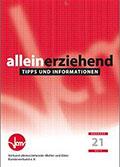 Broschuere Alleinerziehend des Bundesverbandes alleinerziehender Muetter und Vaeter e V